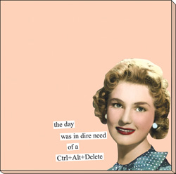 Ctrl alt delete day