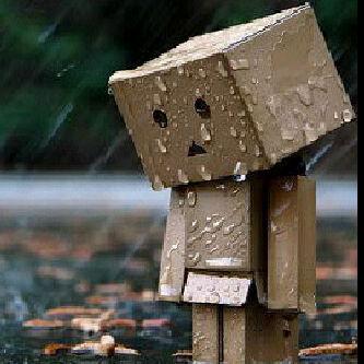 Waiting in rain